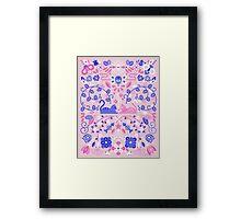 Kitten Lovers Framed Print