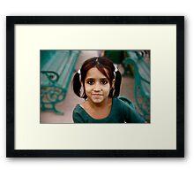 Little Indian Elf Framed Print