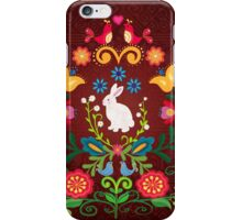 Bunny Of The Flowers iPhone Case/Skin