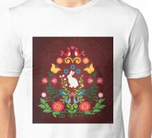 Bunny Of The Flowers Unisex T-Shirt