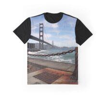 Golden Gate Bridge, San Francisco Graphic T-Shirt