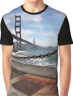 Golden Gate Bridge, San Francisco Graphic T-Shirt