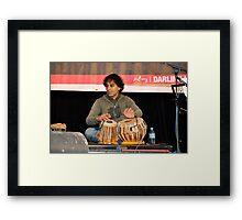 Bobby Singh,Compass Quartet,Australia 2012 Framed Print