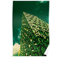 Green Scraper  Poster