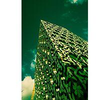 Green Scraper  Photographic Print