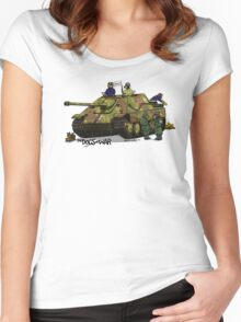 The Dogs of War: Jagdpanther Women's Fitted Scoop T-Shirt