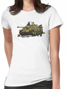 The Dogs of War: Jagdpanther Womens Fitted T-Shirt