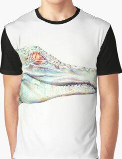 Albino Alligator Graphic T-Shirt