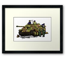 The Dogs of War: Jagdpanther Framed Print
