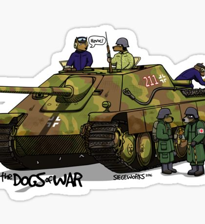 The Dogs of War: Jagdpanther Sticker