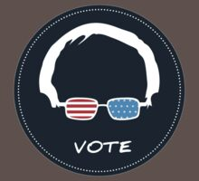Vote Bernie Sanders - DarkBlue Version One Piece - Short Sleeve