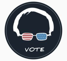 Vote Bernie Sanders - DarkBlue Version Baby Tee