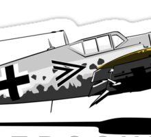 Messerschmitt BF 109 Sticker