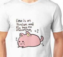 Does the cat make it look less depressing? Unisex T-Shirt