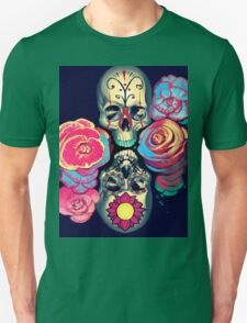 Skulls and Flowers T-Shirt