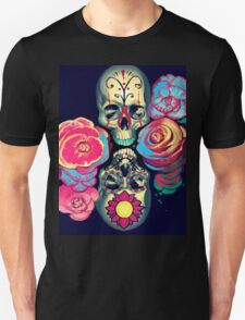 Skulls and Flowers T-Shirt