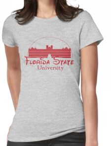FSU Westcott Building (Cinderella's Castle Parody) Womens Fitted T-Shirt