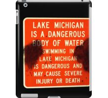 lake michigan iPad Case/Skin