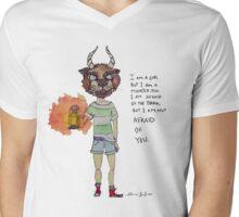 MonsterGirl  Mens V-Neck T-Shirt