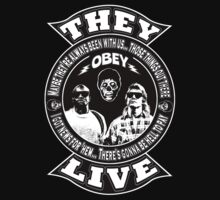 They Live One Piece - Short Sleeve