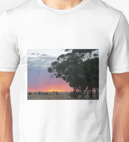 Wimmera Sunrise Unisex T-Shirt