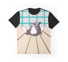 Cat Yoga Graphic T-Shirt