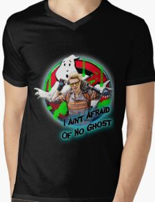 I Ain't Afraid Of No Ghost Mens V-Neck T-Shirt