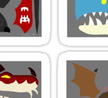 Monster Crests Sticker
