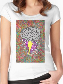 Brainstorm Women's Fitted Scoop T-Shirt