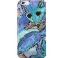 Blue Fox iPhone Case/Skin