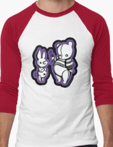 Flowers for the Pig Men's Baseball ¾ T-Shirt