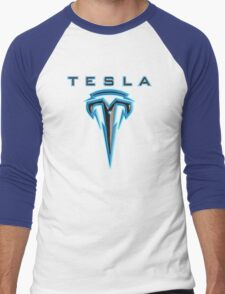 Teslafied Men's Baseball ¾ T-Shirt