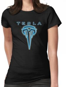 Teslafied Womens Fitted T-Shirt