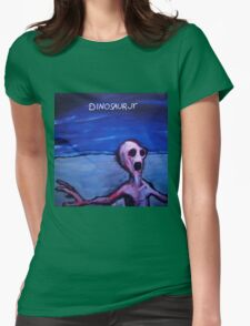 Dino Jr Womens Fitted T-Shirt