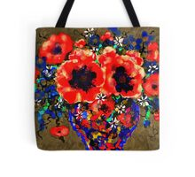 Joyful Poppies Tote Bag