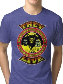 They Live Colour 2 Tri-blend T-Shirt