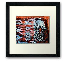 13TH Skull Framed Print