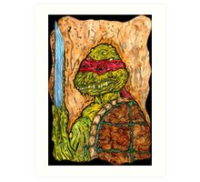 Mutant Turtle Art Print
