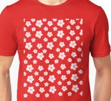 Cherry Blossom Pattern Unisex T-Shirt