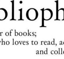 Bibliophile definition Sticker