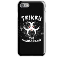 The 100 - Trikru: The Woods Clan iPhone Case/Skin