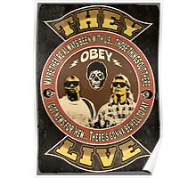 They Live Vintage Poster