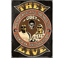 They Live Vintage Photographic Print