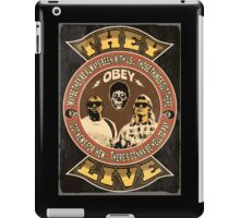 They Live Vintage iPad Case/Skin