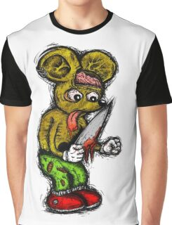 Morbid Mouse Graphic T-Shirt