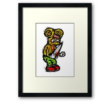 Morbid Mouse Framed Print