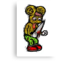 Morbid Mouse Canvas Print