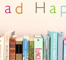 Read happy Sticker