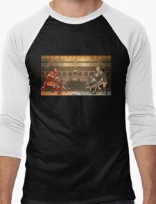 Minimalistic Pro-Bending Men's Baseball ¾ T-Shirt