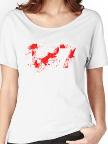 187 (Red) Women's Relaxed Fit T-Shirt